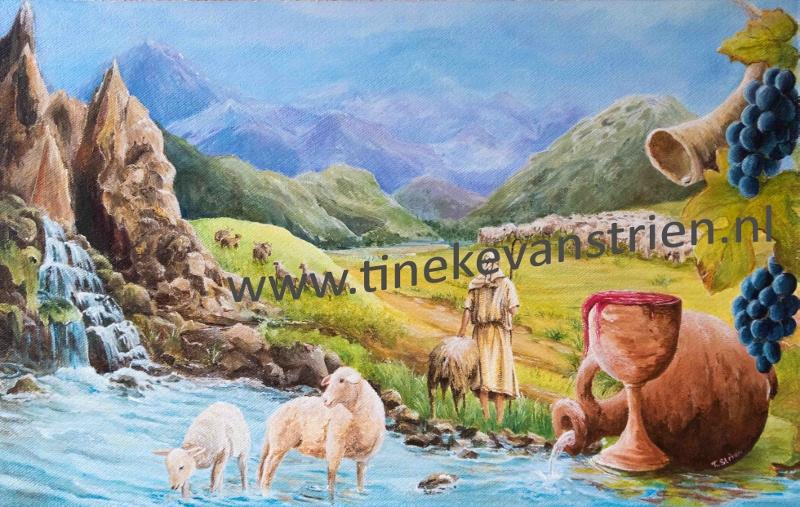 De Goede Herder       (50x80)