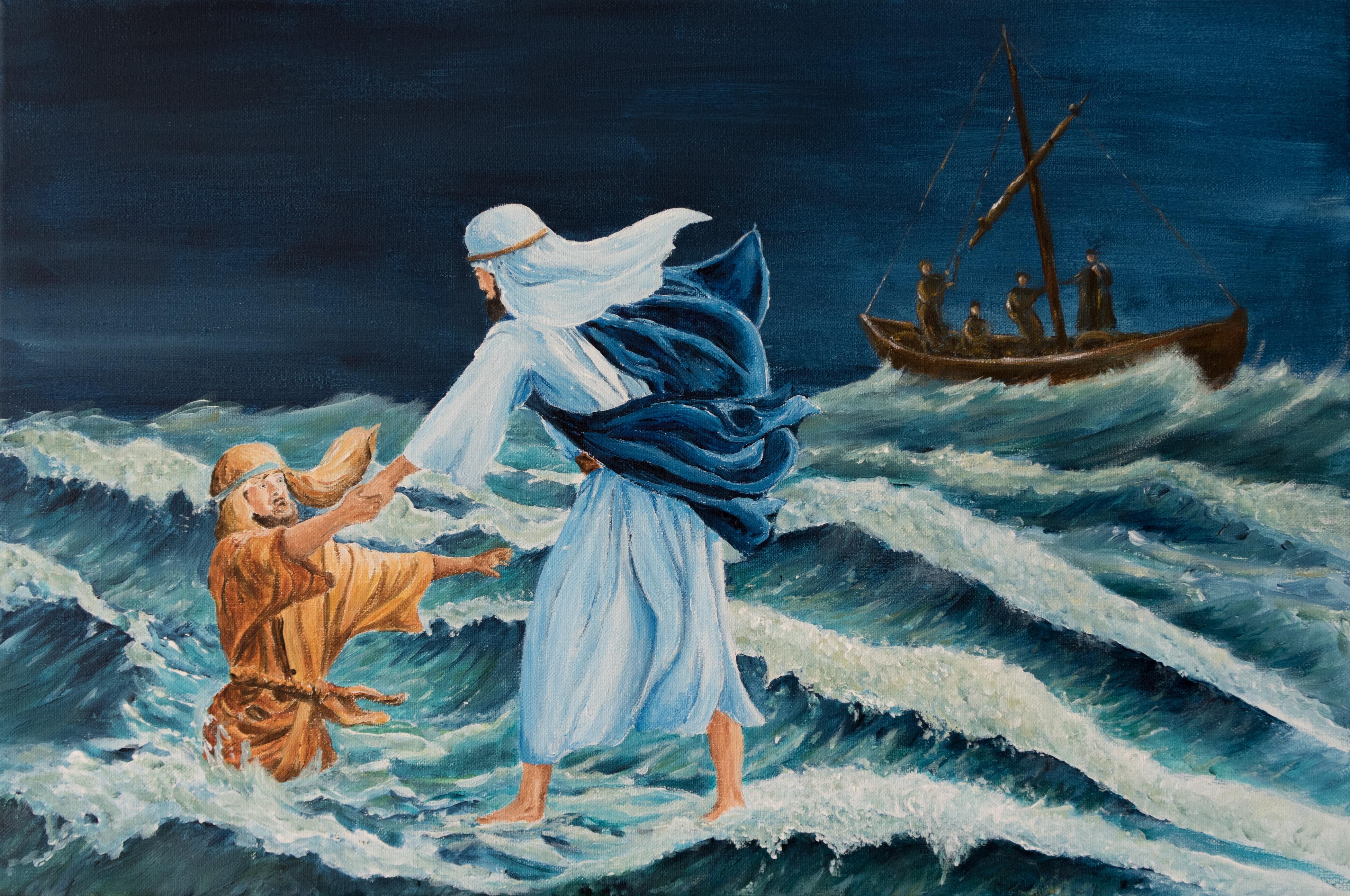 Save me Lord! 40x60      195,-
