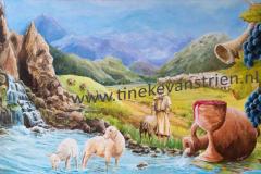 De Goede Herder       (50x80)     375,-