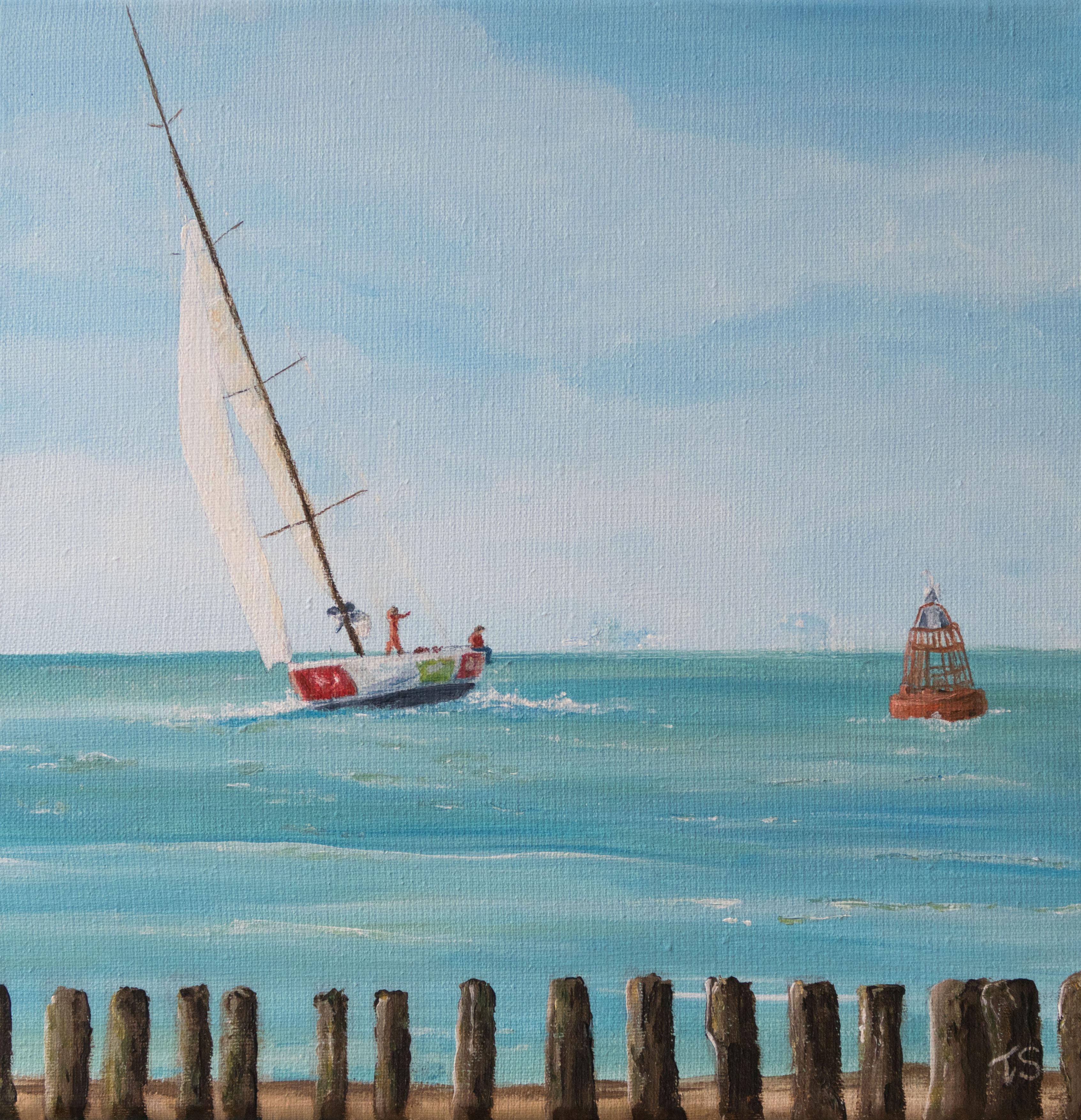 Zeilboot op Walcheren